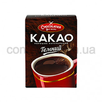 Какао-пор. Чоколатиер темный (нап.) 80 гр.