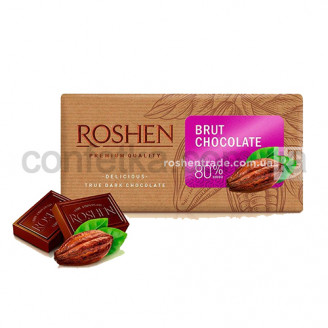 Шоколад Брют 80% 90 гр.