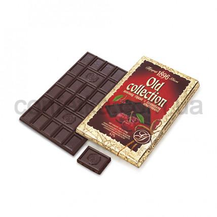 Шоколад горький с вишн. кус. 200 гр. Олд коллекшн