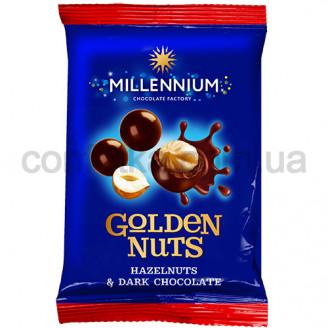 Драже Голден Нут фундук черный Шоколад 50 гр.
