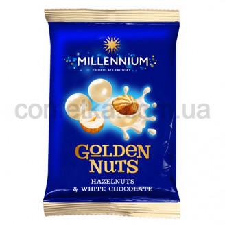 Драже Голден Нут фундук белый Шоколад 50 гр.