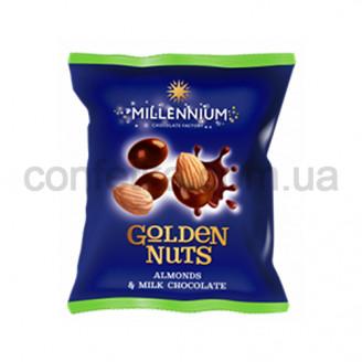 Драже Голден Нут миндаль черный Шоколад 50 гр.
