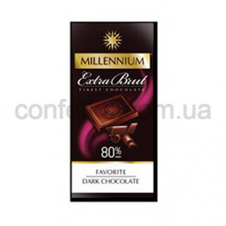 Шоколад Брют экстра черный 80% 100 гр.